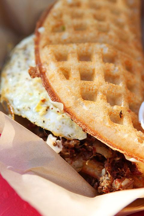 Bruxie Gourmet Waffle Sandwiches in Orange, California