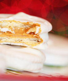 Image of White Chocolate Peanut Butter Ritz Cookies