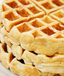 Image of Cinnamon Nutmeg Waffles
