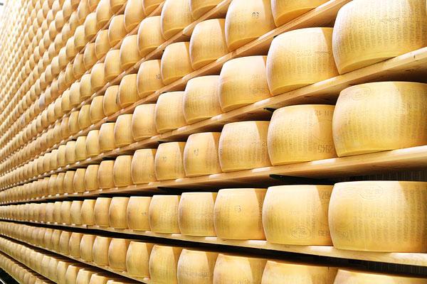Parmigiano Reggiano Taste-Testing at Casearia Sant'Anna
