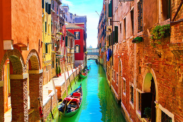 One Day In Venice, Italy