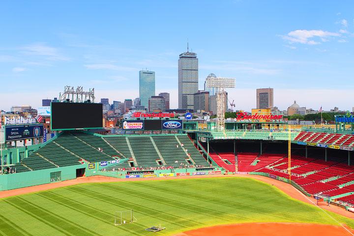Atlanta Braves vs Boston Red Sox at Fenway Park 2012