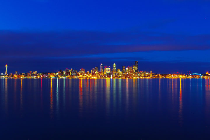 Best View of Seattle Space Needle and Skyline