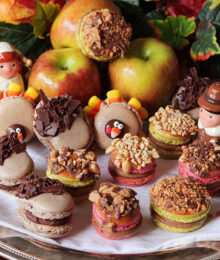 Image of Caramel Apple Macarons