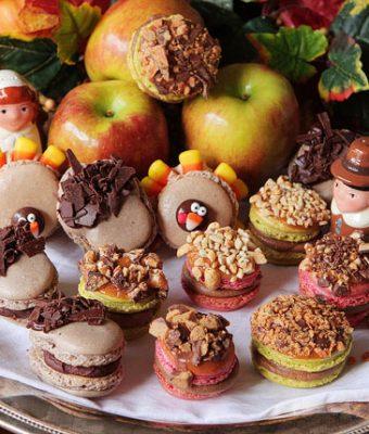 Image of Caramel Apple Macarons