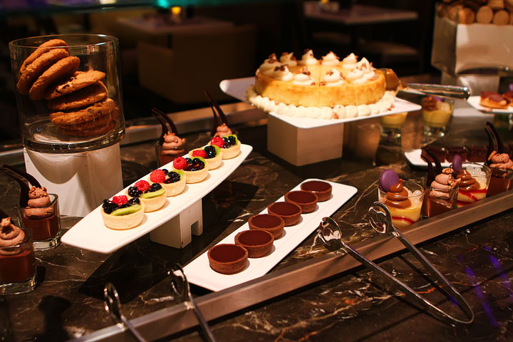 The Chocoholic's Dessert Bar at Hyatt Regency New Orleans