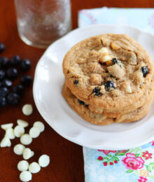 Image of Cinnamon Blueberry Biscoff Breakfast Cookies