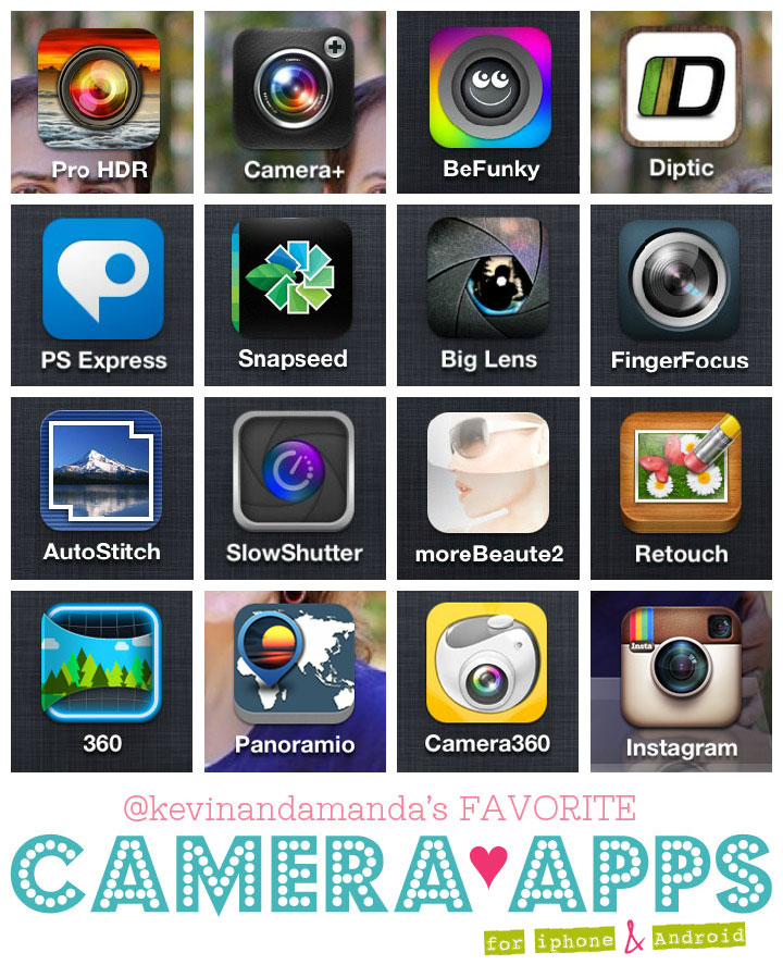 My Favorite Camera Apps for iPhone and Android — Kevin & Amanda