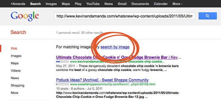 Similar image search for post playin around reverse