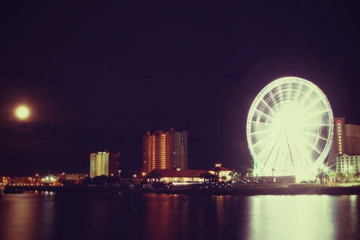 Pensacola 360 Boardwalk at Night