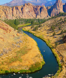 Smith Rock State Park in Bend, Oregon www.kevinandamanda.com #travel #wanderlust