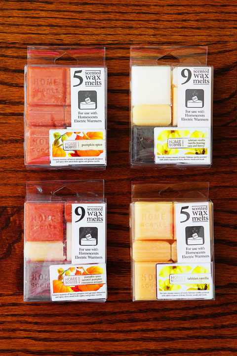 New Scented Wax Melts from Target and Paula Deen Scented Wax Melts found at Walmart!