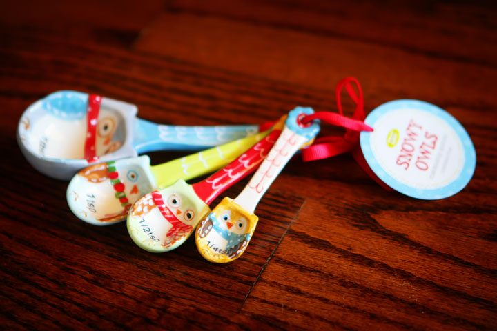 Image of Owl Measuring Spoons