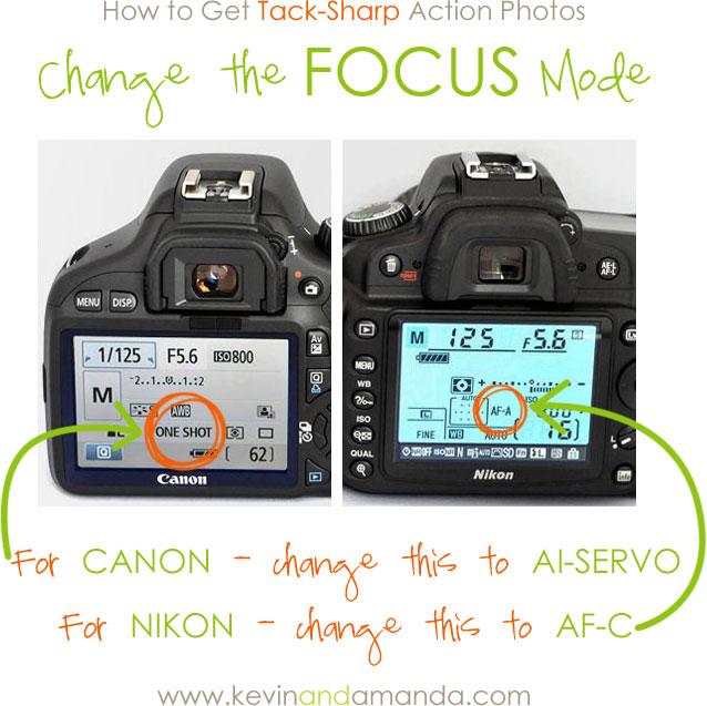 How to Take Tack-Sharp Action Photos — Kevin & Amanda
