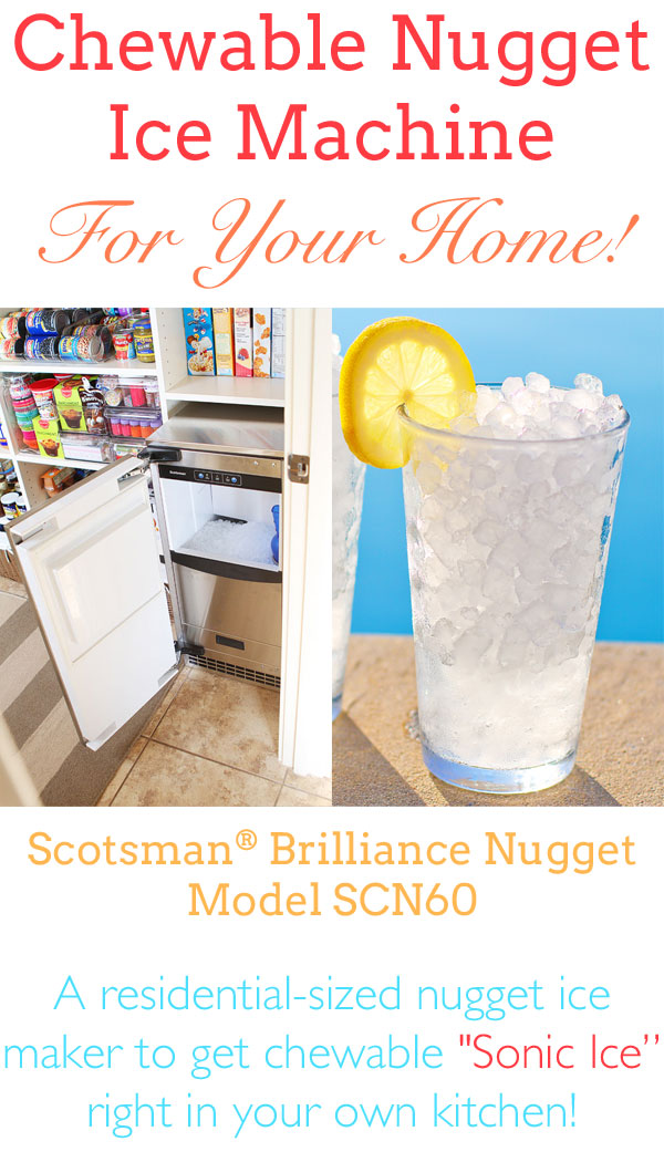 A Nugget Ice Maker For Home My Very Own Sonic Ice Maker