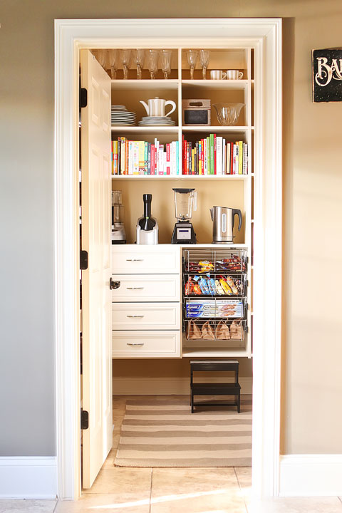 Image of Our New Pantry From the Doorway