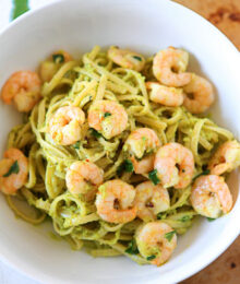 Image of Shrimp & Avocado Pasta