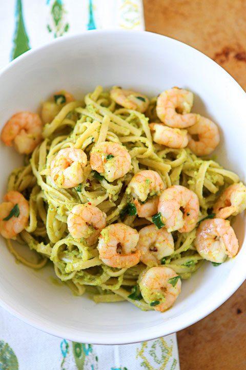 Avocado and Shrimp Pasta Recipe