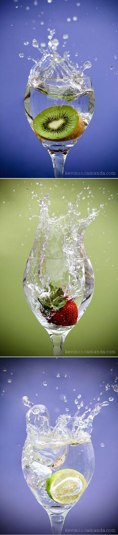 FREE High-Res downloads of this Splashing Fruit Photo Series! (No Watermark!!!)