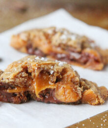 Image of Salted Caramel Mocha Cookies