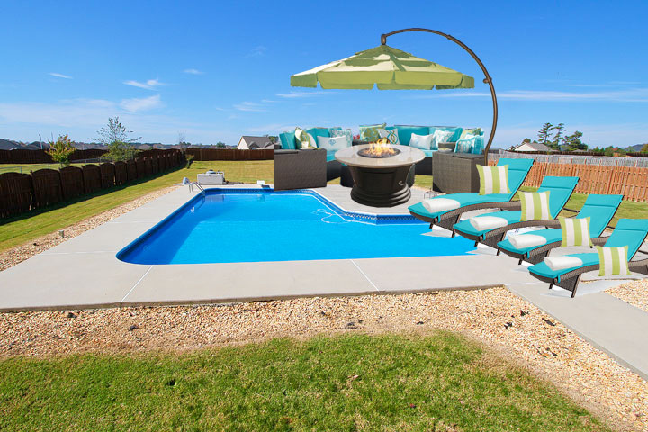 Pool Deck Patio Furniture Ideas