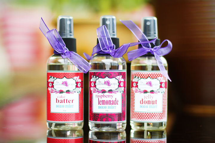 Bakery Scents & Perfumes from ForGoodnessGrape.com