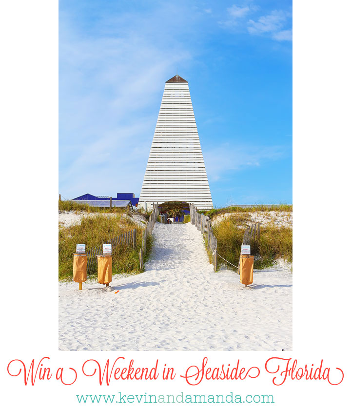 Win a Perfect Beach Vacation to Seaside, Florida! #giveaway