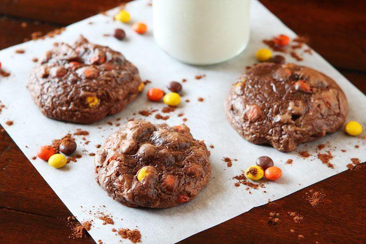 Image of Double Fudge Brownie Cookies