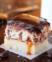 Cookie Dough Billionaire Bar Image