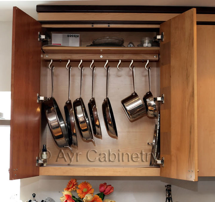 Kitchen Cabinet Pot Organizer: The Best Pot Rack And Cabinet