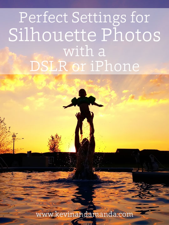 What settings to use for silhouette pictures!