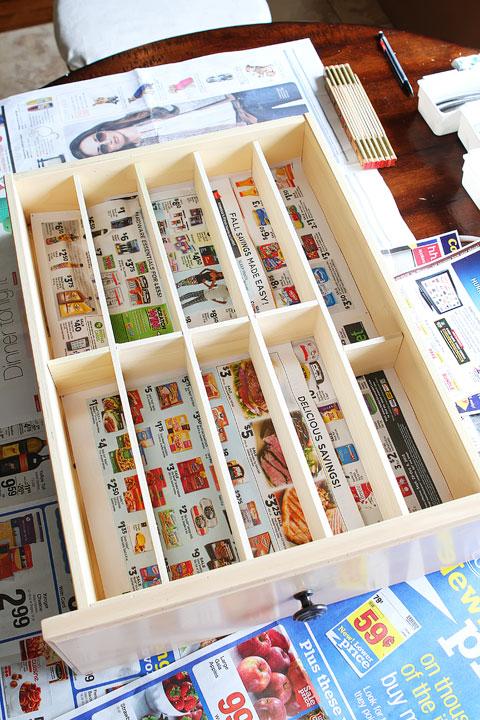 DIY Kitchen Drawer Organizer ~ How To Make Your Own Custom Drawer Organizer