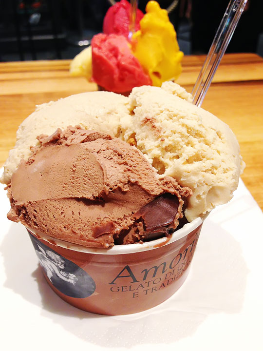 Armorino. Best Gelato in NYC! Get the Nutella, Speculoos, and Hazelnut! :)