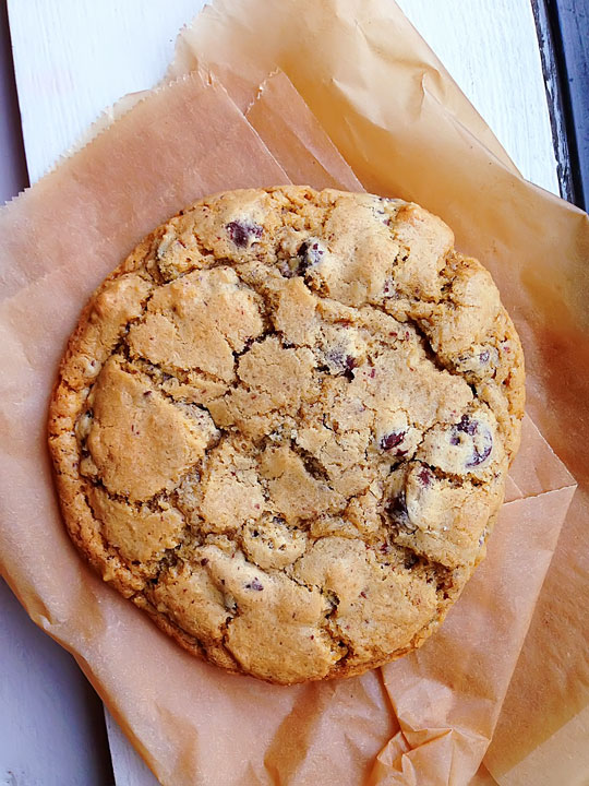 Homemade Chocolate Chip Cookie by Shaina Olmanson at Food For My Family