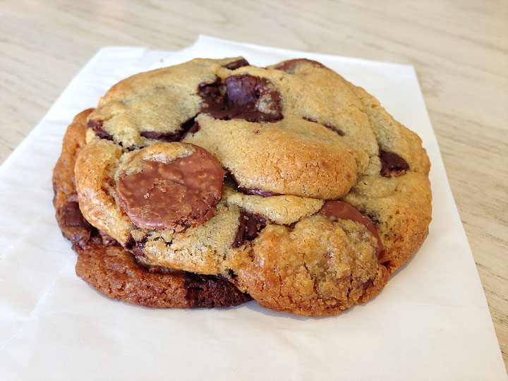 Chocolate Chunk Cookie from Sugar and Plumm in NYC