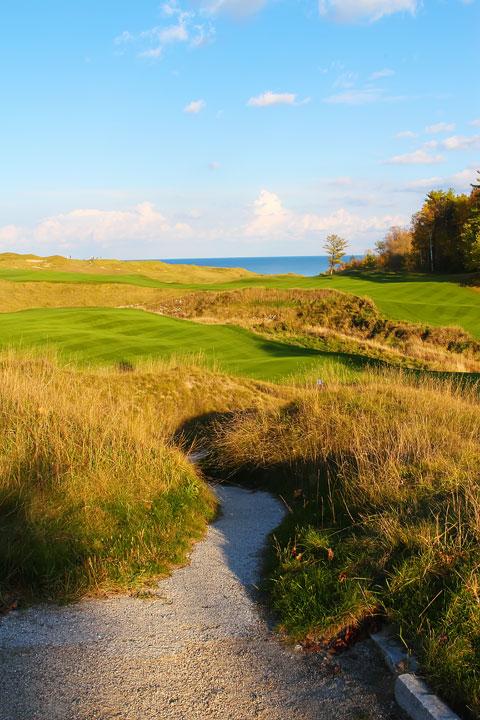 Whistling Straits Golf Course Kohler, Wisconsin