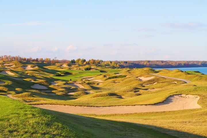 Kohler, Wisconsin Whistling Straits Golf Course