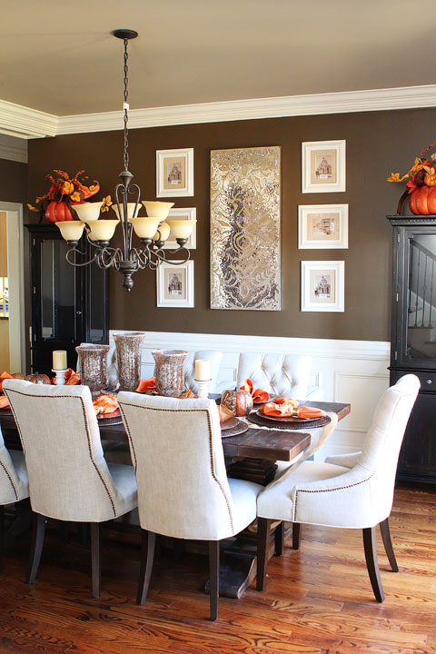 Fall Dining Room Table Kevin Amanda