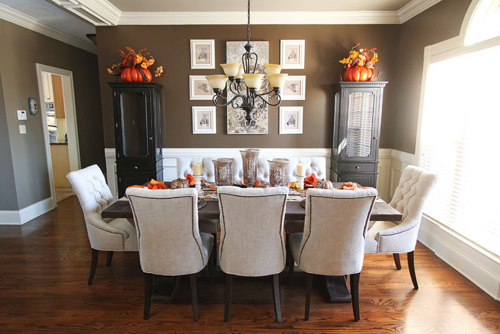 Fall Dining Room Table — Kevin & Amanda