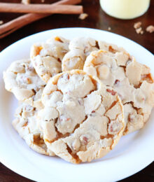 Image of Cinnamon Eggnog Christmas Cookies