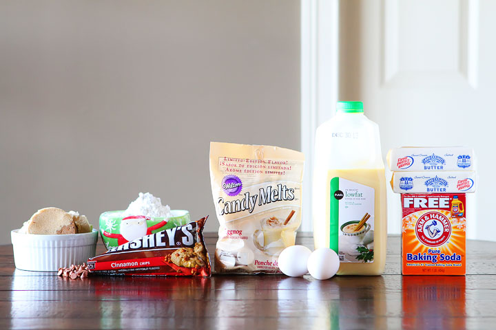 Cinnamon Eggnog Christmas Cookies Recipe | Cookies for Santa