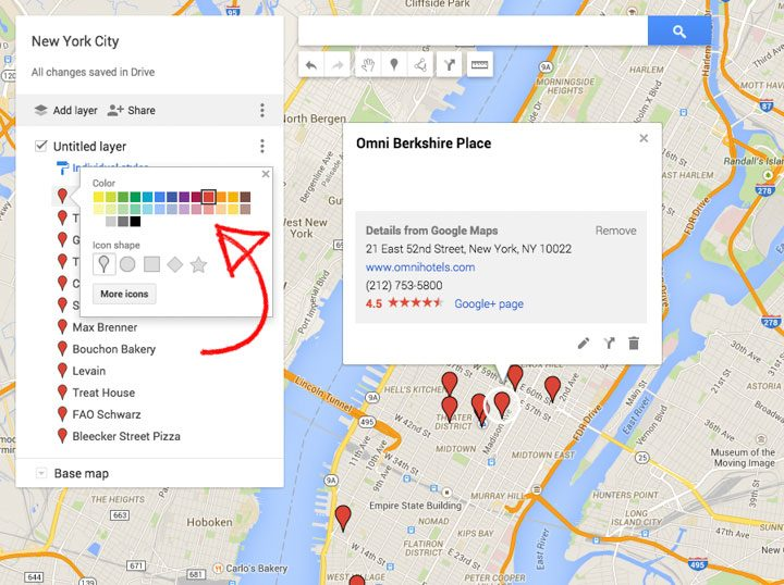How to Create a Custom Travel Map with Google Maps New Google My – Europe Travel Planner Map