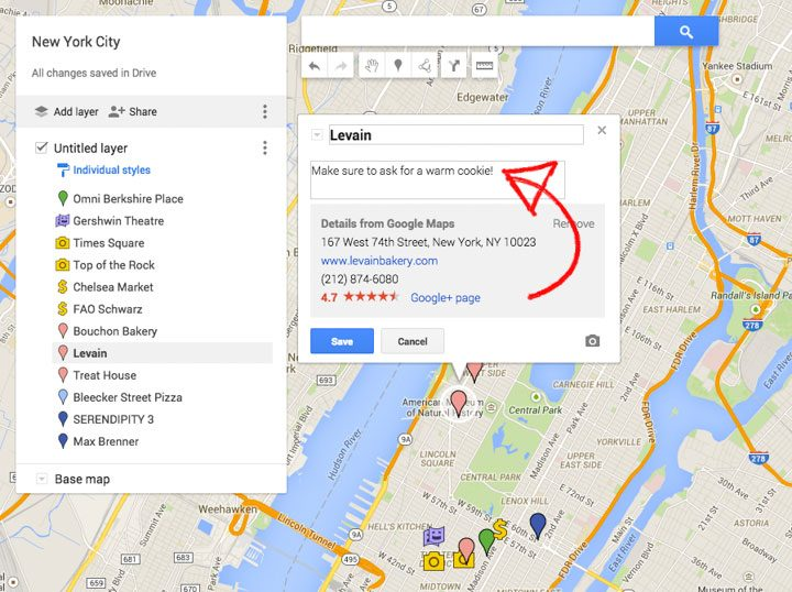 How to Create a Custom Travel Map with Google Maps {New ... Driving Directions Google Maps Uk on maps history google, maps maps google, maps get directions, maps satellite view google,