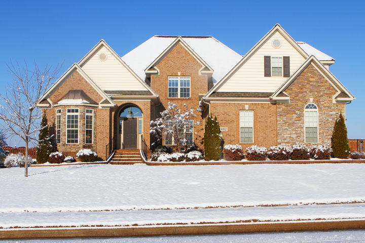 Image of our Snowy House