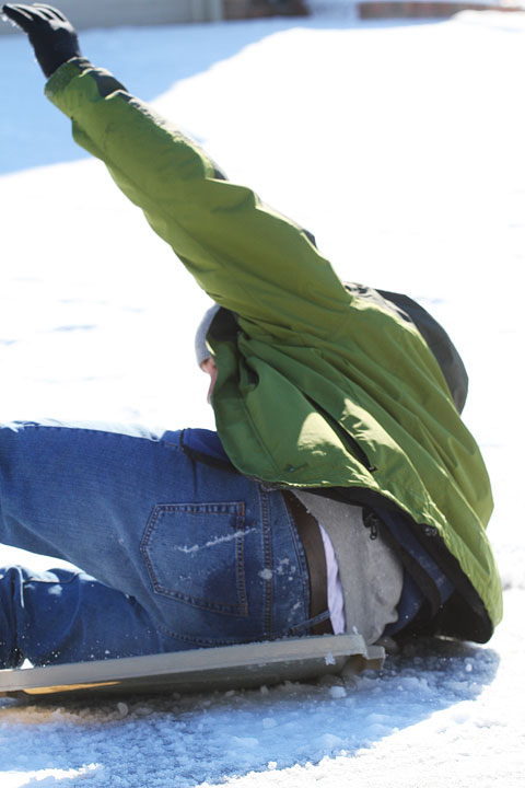Image of Kevin Wiping Out