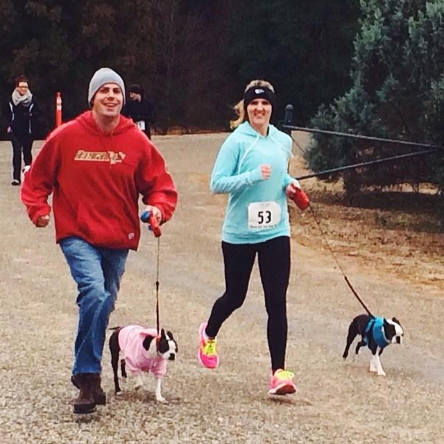 1-mile Doggie Dash Fun Run