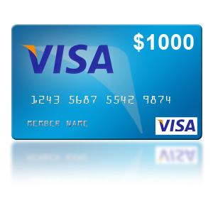 $1000 Visa Gift Card Giveaway on kevinandamanda.com