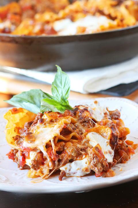 15 Minute Lasagna