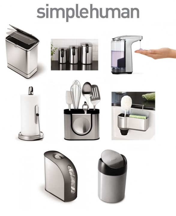 Win an entire SimpleHuman Stainless Steel Smart Kitchen Makeover!