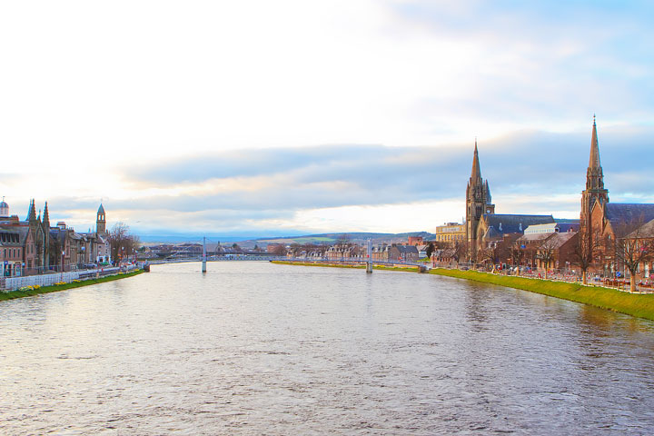 Inverness, Scotland. Tips for Traveling to Scotland -- What to Do, See, & Eat. www.kevinandamanda.com